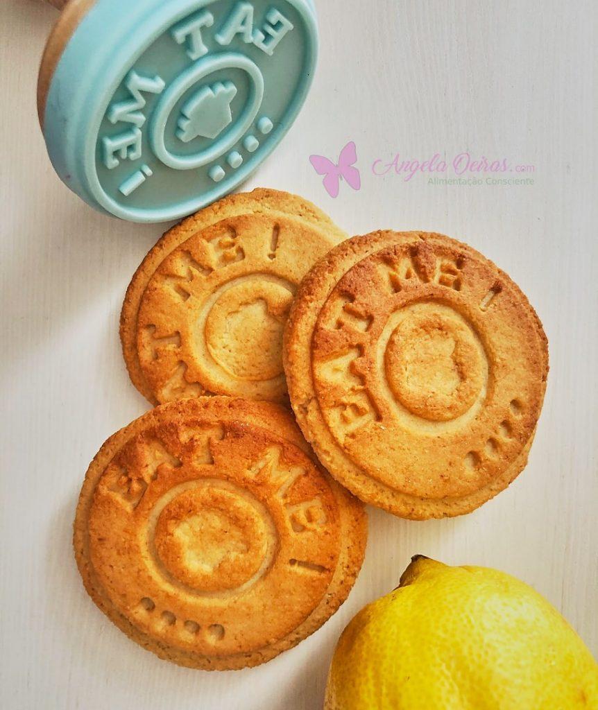 Bolachas de aveia e limão
